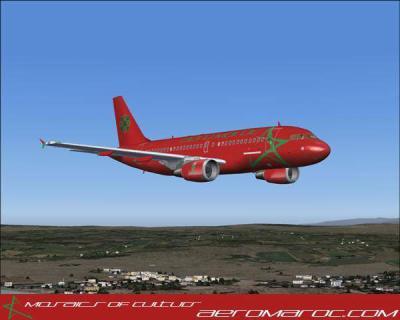 avion maroc
