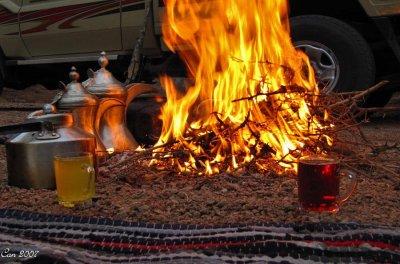 Avez-vous boire le thé avec nous patricia
