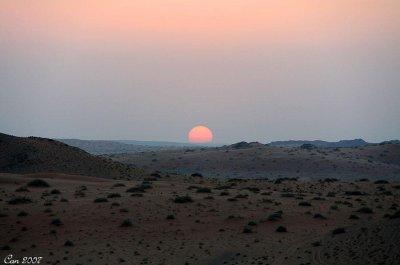 Quelle vue magnifique coucher de soleil de cette