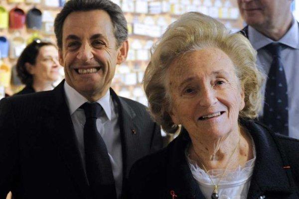 Bernadette Chirac souhaite que Nicolas Sarkozy se représente à l'élection présidentielle de 2017