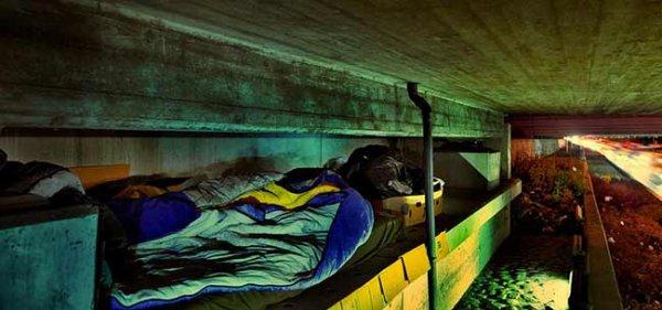 Pour 8 euros, cet hôtel vous propose de dormir comme un SDF