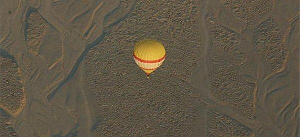 Egypte - Une montgolfière avec des touristes Français explose près de Louxor: 19 morts