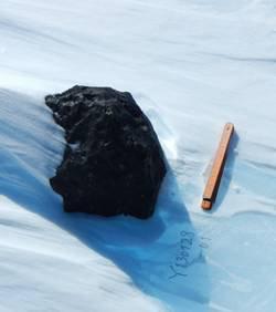 Des scientifiques dénichent une météorite de 18 kg en Antarctique