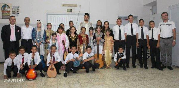 la 4em classe de chéikh talbi khaled