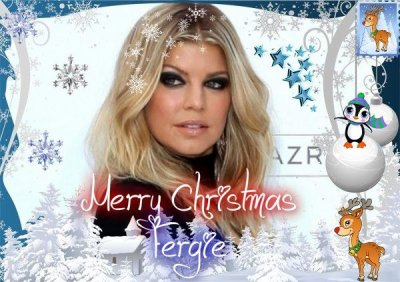 ♥Merry Christmas♥Fergie♥