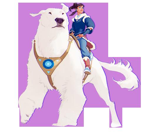 YOKOSO - The Legend of Korra (en cours la suite d'avatar est juste géniale :D)