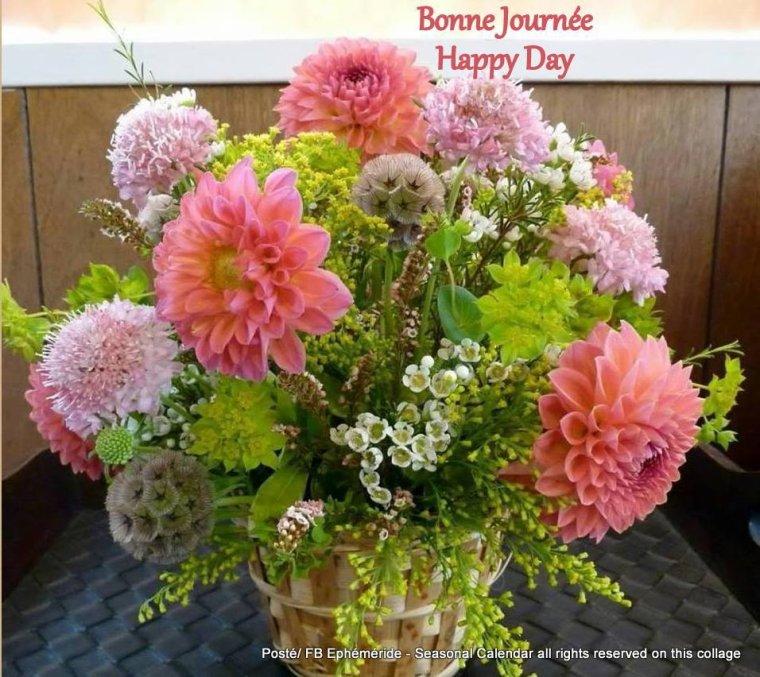 bonjour à tous mes amis(e)s .. je vous souhaite une belle journée de dimanche ensoleillée .. bisous Josette