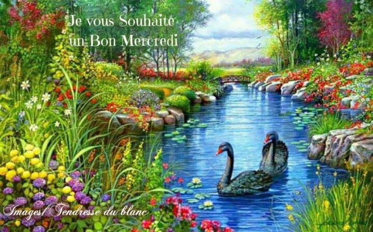 bonjour à tous mes amis(e)s .. je vous souhaite une belle journée de mercredi ensoleillée.. bisous Josette