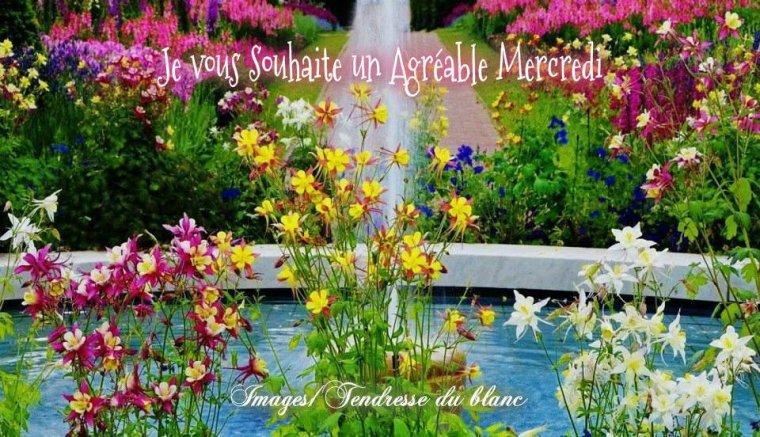 bonjour à tous mes amis(e)s .. je vous souhaite une belle journée de mercredi ensoleillée .. bisous Josette
