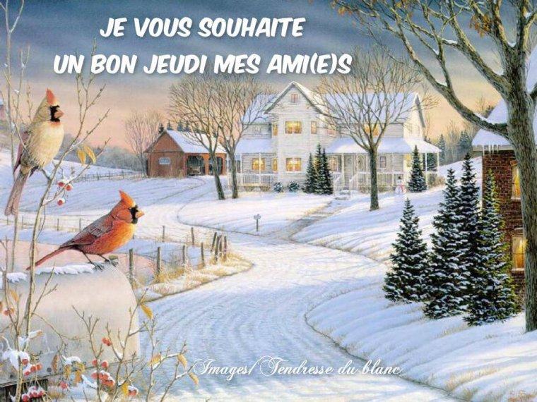 bonjour à tous mes amis(es) ..  je vous souhaite une bonne journée de jeudi .. bisous Josette