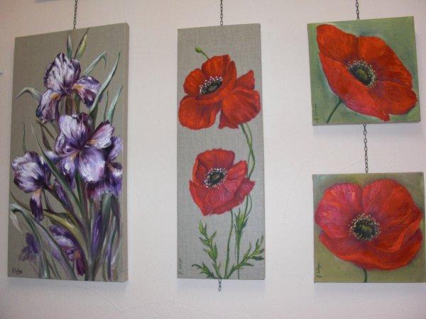 Peinture l 39 huile sur toile de lin blog de js atelier - Peinture sur lin ...