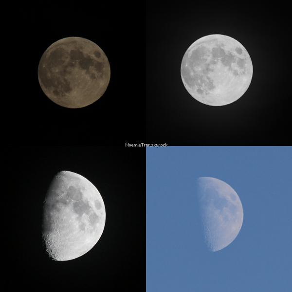 #5 - la lune habille le ciel