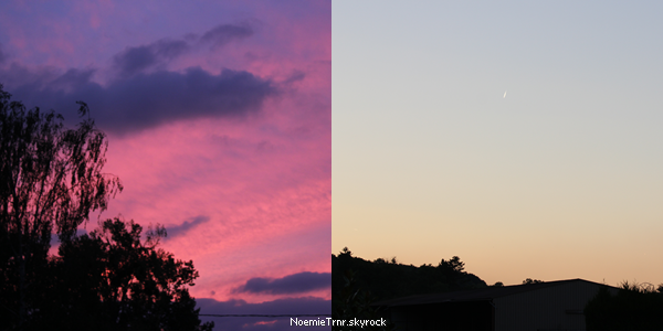 #6 - le ciel est un jeu de couleur