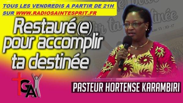 CONSEILS DE MAMAN KARAMBIRI SUR LA FAMILLE tous les Vendredis 20h30 et samedis 18H