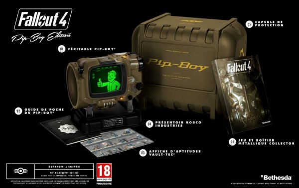 Collector fallout 4 sur ps4