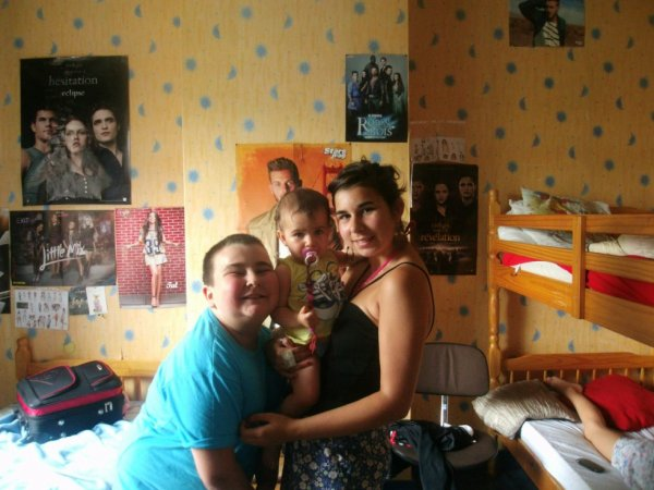 My brother and my sister and me  ❤❤ love you my family ❤❤