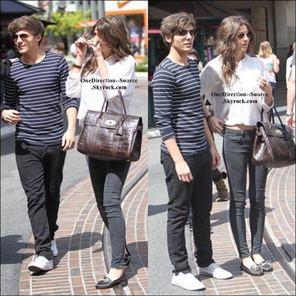 • 28 Mars :  - Louis & Eleanor ont été vus à Los Angeles, en Californie  - Le groupe arrivé à Los Angeles.