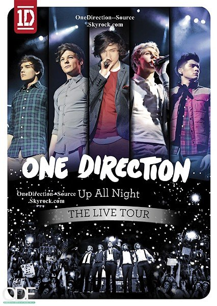 """-  Sortie du  DVD """"Up All NightTour """" qui sera disponible au centre commercial  le 28 Mai 2012 pour la France. Mais vous pouvez déjà le pré-commandez en cliquant ici."""