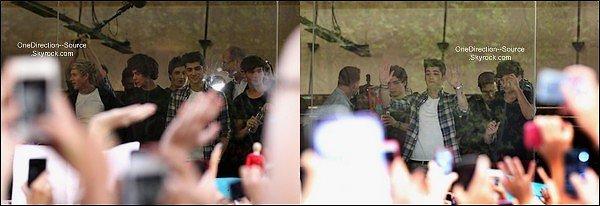 • 11 Avril: - Les garçons dans les studios Sunrise pour une entrevue et une performance