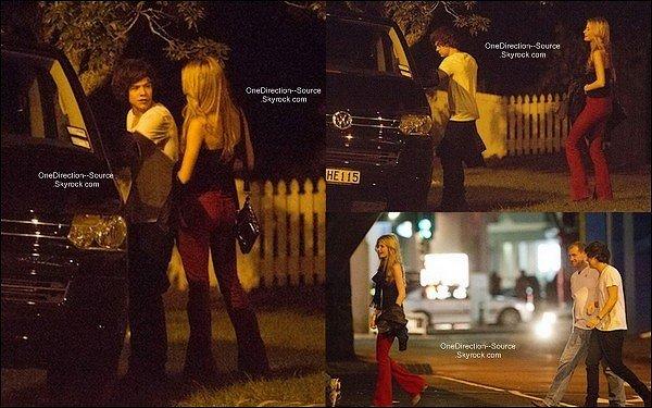 """• Hier , 22 Avril : Harry à été vue dans la nuit avec sa """" nouvelle petite amie """"  Emma Ostilly ainsi qu'une amie. - Retrouvez également des photos du couple datant du  19 avril. Des rumeurs on été propagé  : - Emma aurait été l'ex d''Harry,  les photos ne seraient donc pas récente.  - Les deux personne ne seraient juste qu'amis. Harry aurait trop bus se soir la,  y compris Emma, ce qui expliquerais la photo du baiser. Que croire ? attendons juste des informations un peu plus concrète."""