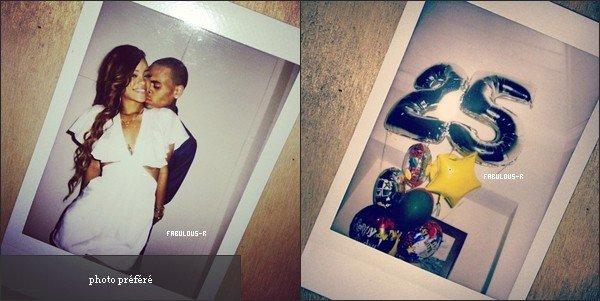 . Couverture du magazine « ELLE UK »  + Des photos de l'anniversaire de  Riri à Hawaï, des photos et des informations sur sa collection  « Rihanna for River Island »,et des photoshoot de Rihanna et Kate Moss pour le prochain « V Magazine » .