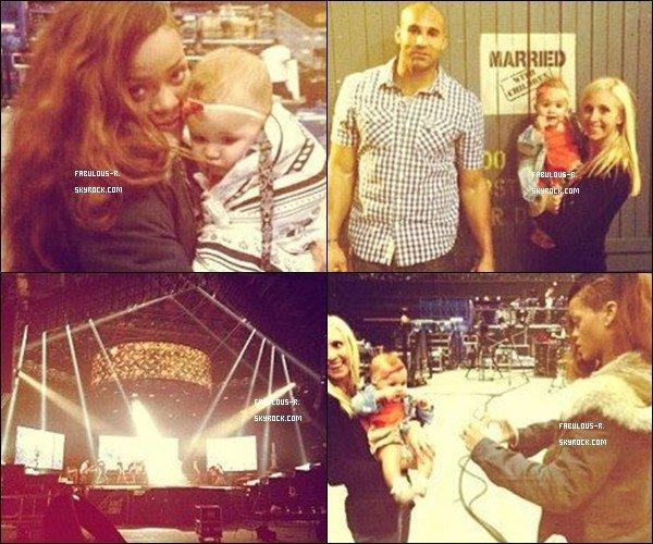 . Découvrez des photos de Rihanna pendant ses répétitions pour la «DIAMONDS WORLD TOUR» +De nouvelles photos de son Instagram  .