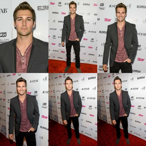 James Maslow a Star Magazine Scene Stealer Parti