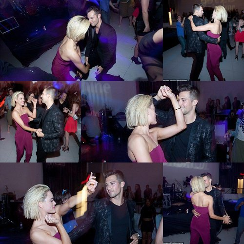James Maslow et Peta Murgatroyd  Le 23 avril 2014