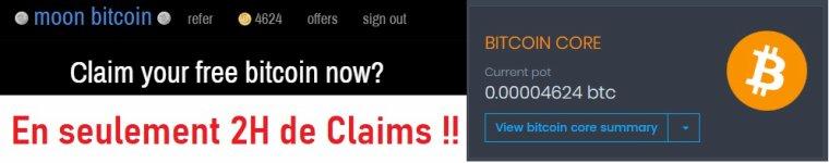 Réclamez vos Bitcoins toutes les 5 minutes sur ce FAUCET ULTRA RENTABLE