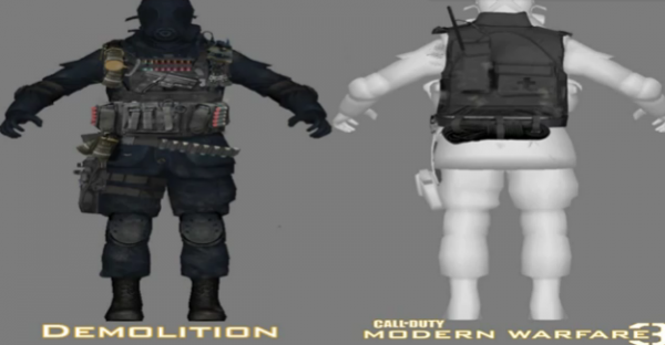 Modern Warfare 3 Equipements :