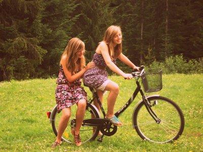 A bicyclette c'est super chouette !