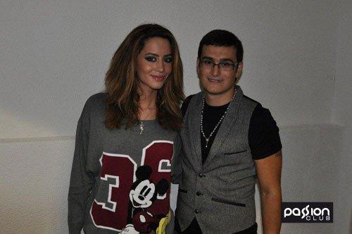 Dafina Zeqiri - Duffy'e - foto 2011 në Passion Club !