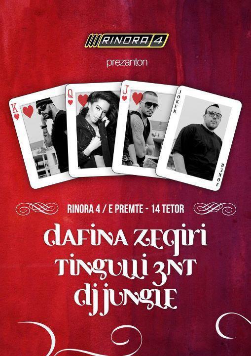 Dafina Zeqiri ne Insomnia Club , Rinora 4 & Macumba Club 2011