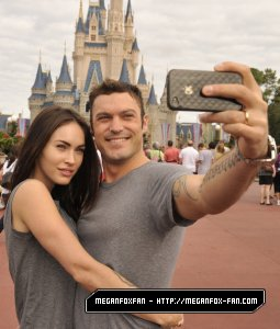 Megan fox à Disneyworld