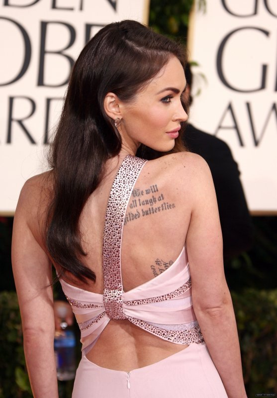 Megan à Golden Globe Awards