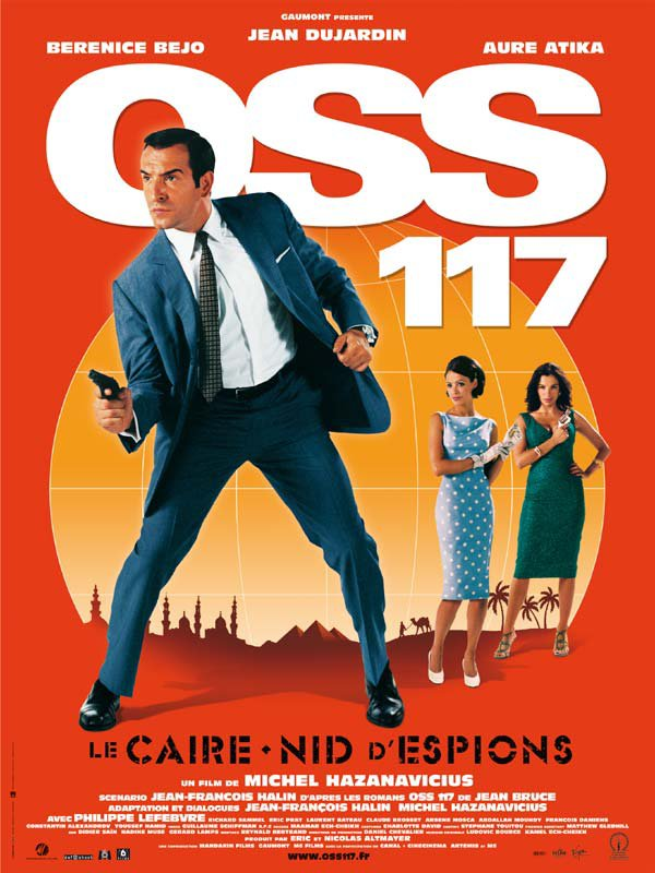 OSS 117, le Caire nid d'espions