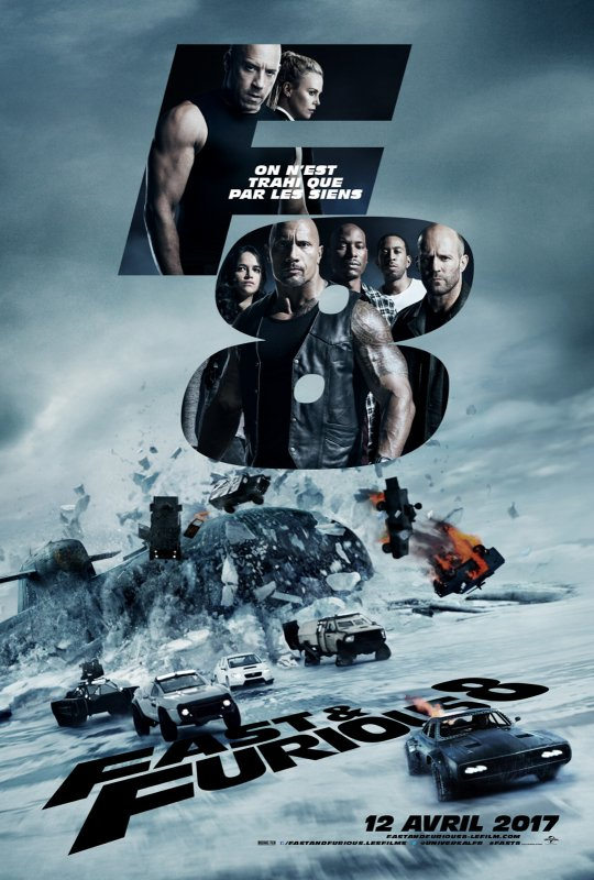Fast and Furious 8 (vu au cinéma)