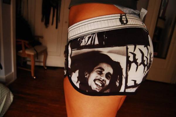 Mon Short Bob Marley