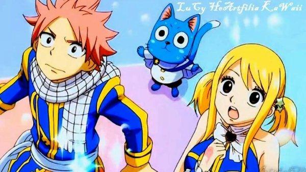 le plus beau manga : fairy tail et le plus beau couple lucy et natsu