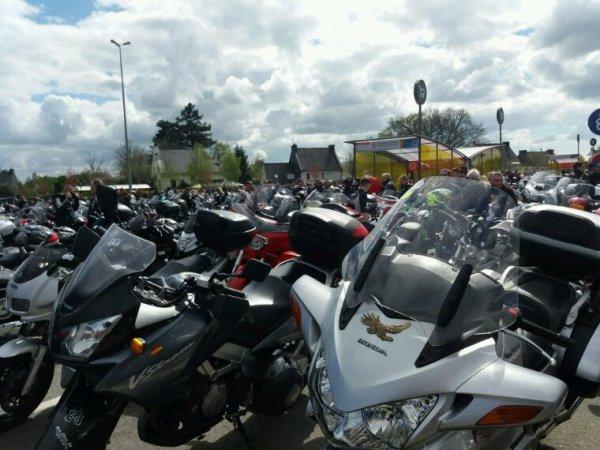 Balade moto du samedi 2 avril 2017 à Vannes