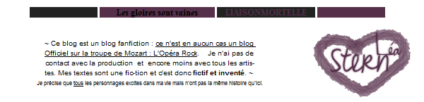 _ © Les Gloires Sont Vaines _