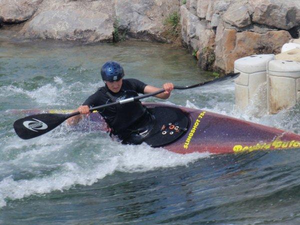 mon sport; & ma live  kayak