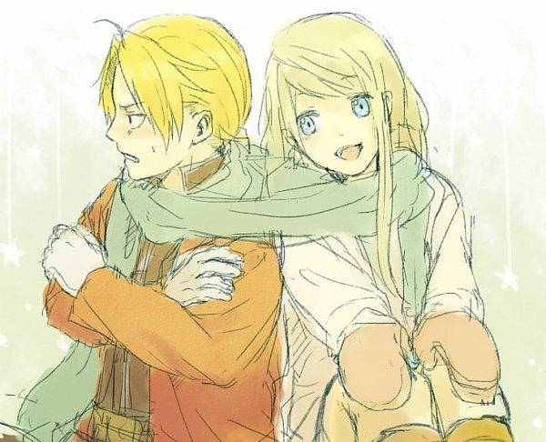 Fan Arts Edward et Winry