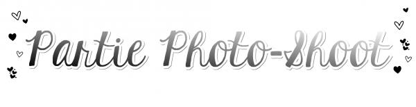 Article 6 : Partie photo-shoot :