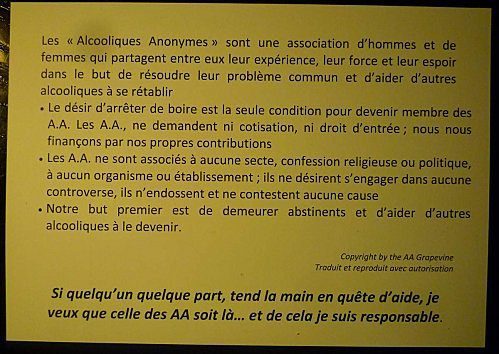 L'IMPORTANT D'ABORD.