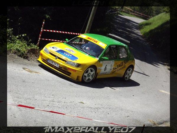 rallye de Saint Marcellin 2011
