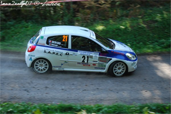 finale de la coupe de france des rallye 2011