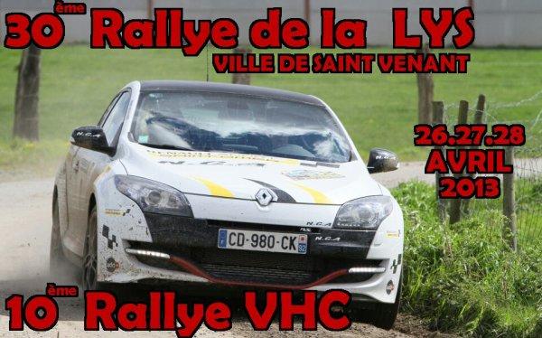 Rallye de la lys 2013