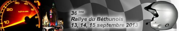 Rallye du béthunois 2013
