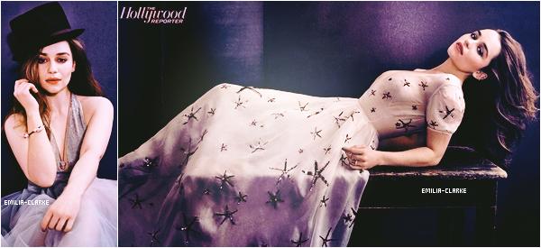 •••••  Perfect Emilia en couverture du prochain numéro du magasine «The Hollywood Reporter» :